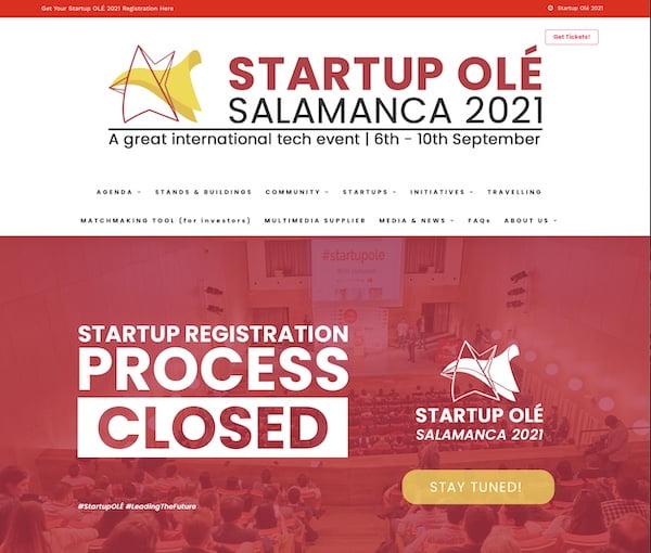 startup OLE comersano